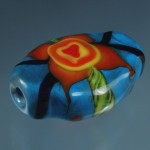 mooladhara glass bead