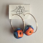 orange blue swirl hoops 3